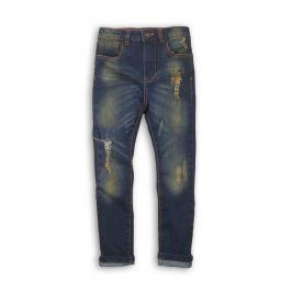 Kalhoty chlapecké džínové s elastenem kluk 122/128