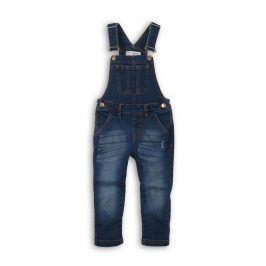 Kalhoty dívčí džínové s laclem holka 110/116