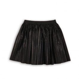 Sukně dívčí skládaná černá 98/104