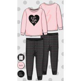 Pyžamo dívčí růžová 104/110