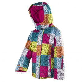 bunda dětská zimní lyžařská holka 140