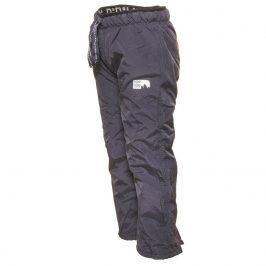 kalhoty sportovní s fleezem outdoorové šedá 98