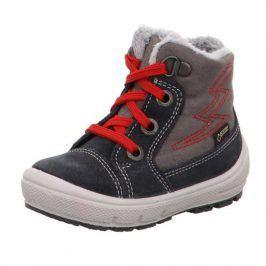 dětské zimní boty GROOVY červená 26