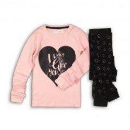Pyžamo dívčí růžová 152/158
