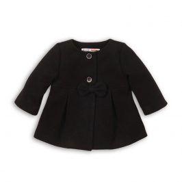 Kabát dívčí s mašlí černá 80/86