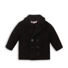 Kabát chlapecký vlněný černá 122/128