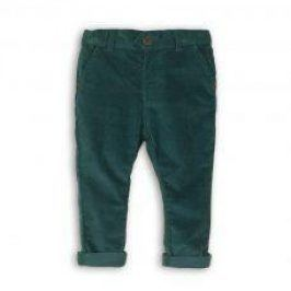 Kalhoty chlapecké s elastenem modrá 116/122