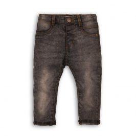 Kalhoty chlapecké džínové s elastenem černá 68/80