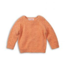 Svetr dívčí oranžová 122/128