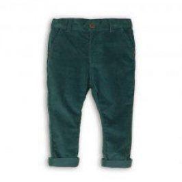 Kalhoty chlapecké s elastenem modrá 86/92