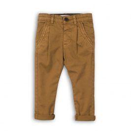 Kalhoty chlapecké Chino hnědá 104/110