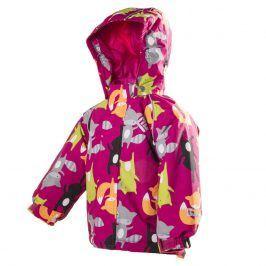 bunda dětská zimní nepromokavá holka 86