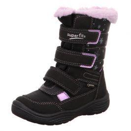 zimní dívčí boty CRYSTAL černá 25