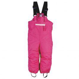 kalhoty dětské zimní růžová 80