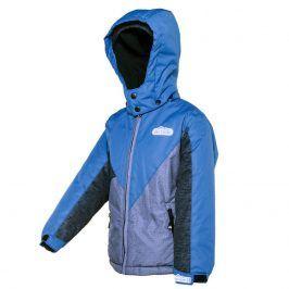 bunda zimní chlapecká modrá 122