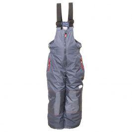 kalhoty lyžařské zimní chlapecké šedá 146/152