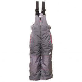 kalhoty lyžařské zimní dívčí šedá 116