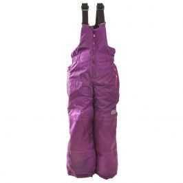 kalhoty lyžařské zimní dívčí fialová 116