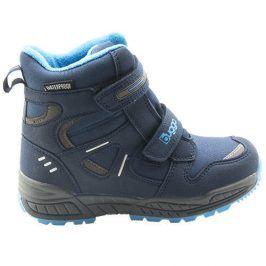 dětské zimní boty modrá 30