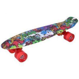 Skateboard vícebarevný 56x15cm