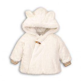 Kabát zimní kojenecký chlupatý bílá 50