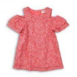 Šaty dívčí slavnostní růžová 122/128