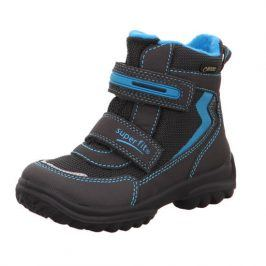 zimní boty SNOWCAT GTX modrá 34