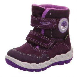 dětské zimní boty ICEBIRD fialová 30