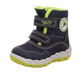 dětské zimní boty ICEBIRD zelená 30