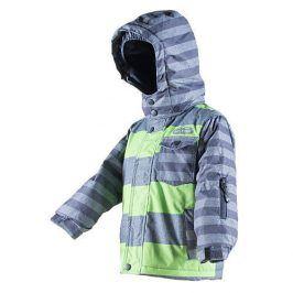 bunda zimní chlapecká zelená 110