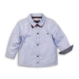 Košile chlapecká s motýlkem světle modrá 104/110