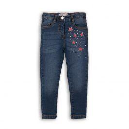 Kalhoty dívčí džínové s elastenem holka 134/140