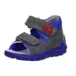 Dětské sandály šedá 23