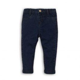 Kalhoty dívčí džínové elastické modrá 104/110