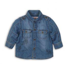 Košile chlapecká modrá 68/74