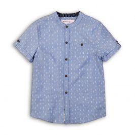 Košile chlapecká modrá 116/122