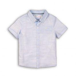 Košile chlapecká s krátkým rukávem světle modrá 110/116