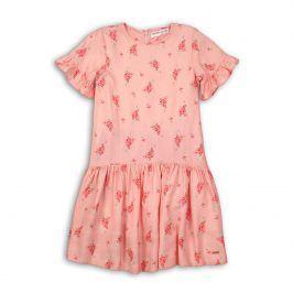 Šaty dívčí bavlněné růžová 146/152