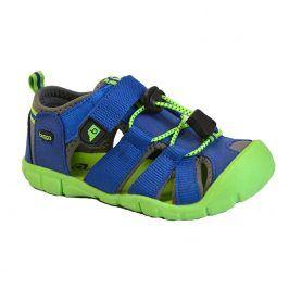 sandály dětské modrá 38