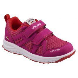 dětské celoroční boty ODDA růžová 35