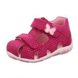 dívčí sandály FANNI červená 23