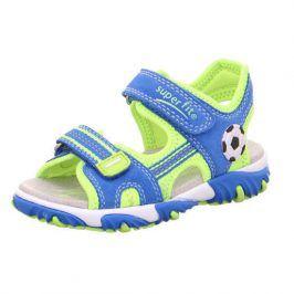 chlapecké sandály MIKE 2 světle modrá 30