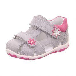 dívčí sandálky FANNI šedá 25