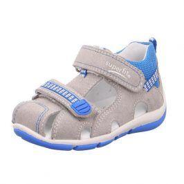 chlapecké sandály FREDDY světle modrá 21