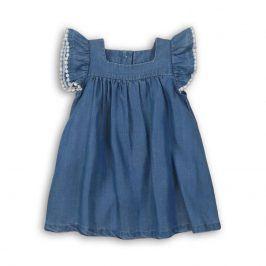 Šaty dívčí modrá 74/80