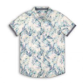 Košile chlapecká světle modrá 104/110