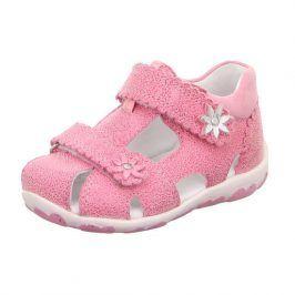 dívčí sandálky FANNI růžová 19