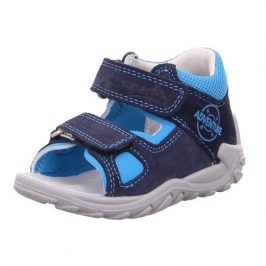 chlapecké sandály FLOW modrá 22