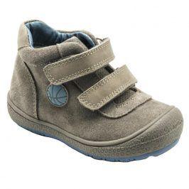 boty celoroční šedá 25