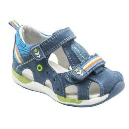 dětské sandály modrá 22